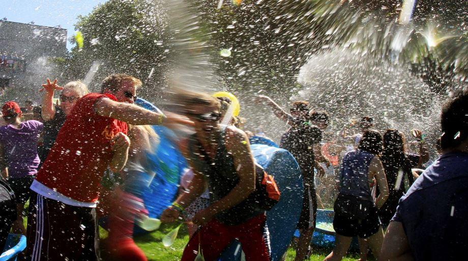water fight image