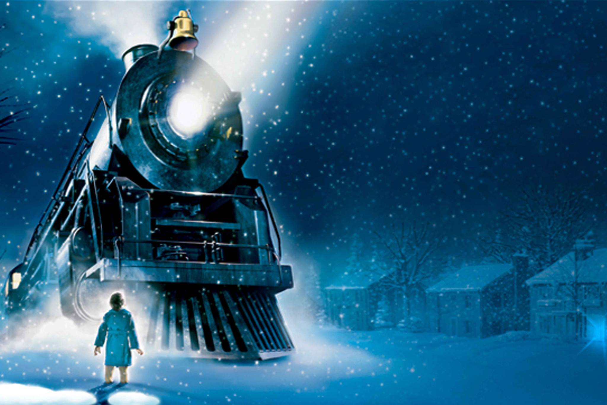 night on the polar express