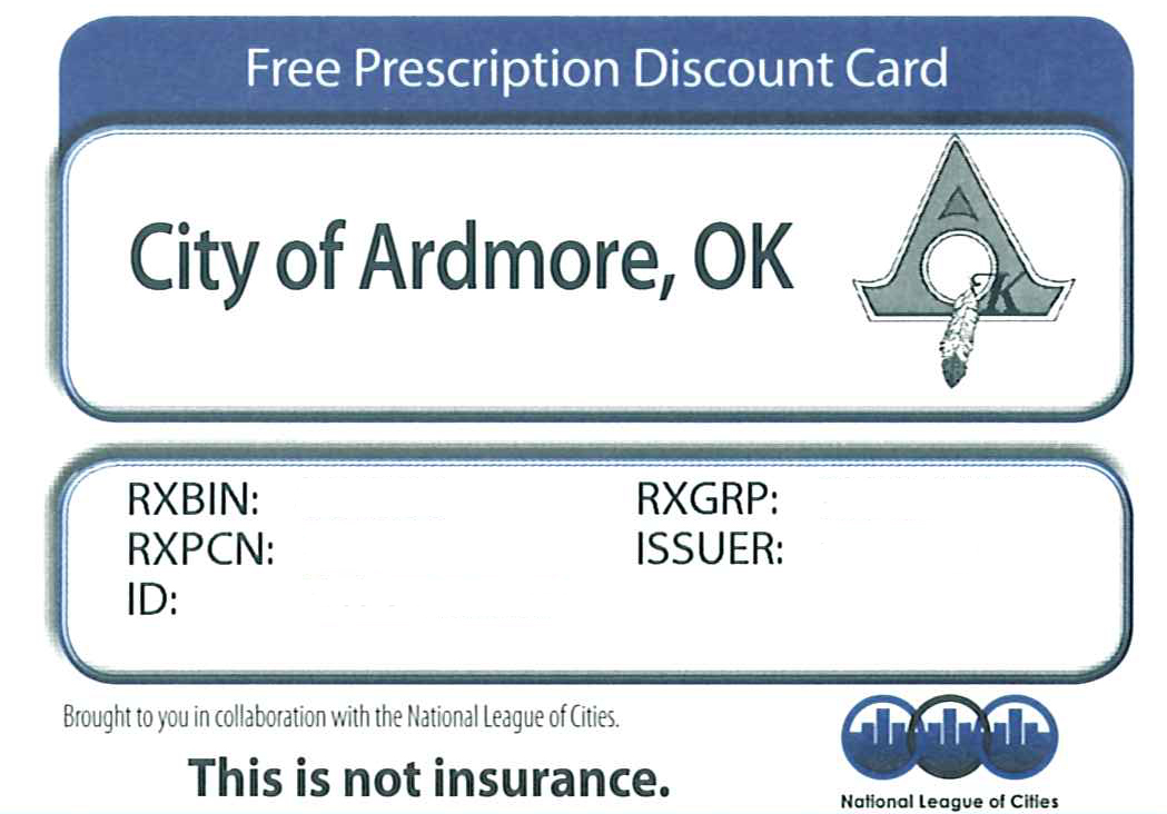 Example Prescription Card